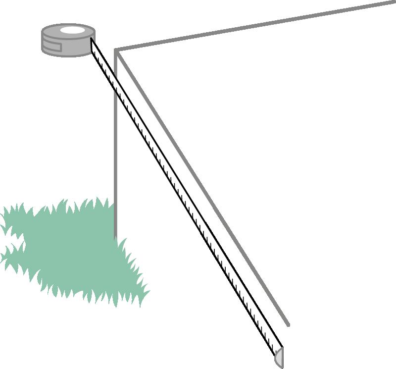 Måltagning sidemontert rekkverk