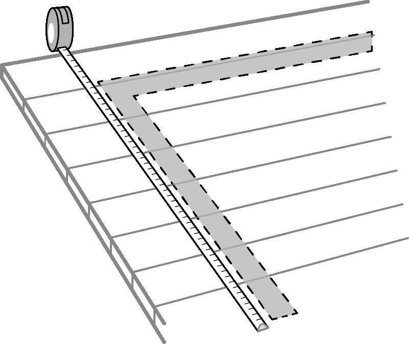 Hvordan måle for toppmontert rekkverk